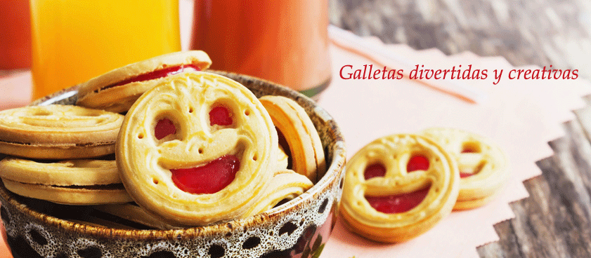 Galletas divertidas y creativas