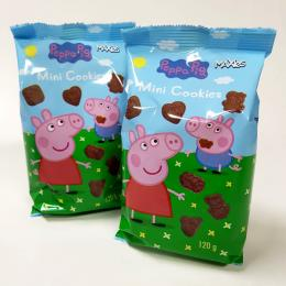PEPPA PIG MINI COOKIES 12 paq x 120g