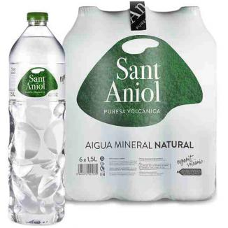 AGUA 1,5 L. PACK 6 BOTELLAS SANT ANIOL