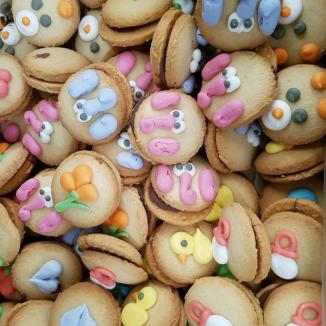 GALLETAS REDONDAS DECORADAS 2 kg