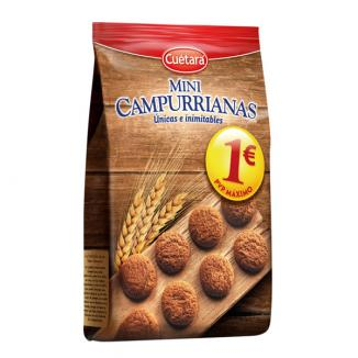 1� MINI CAMPURRIANAS 6 paq. 300g